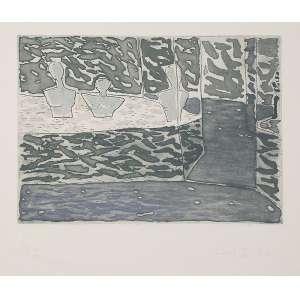 FANG<br />Sem título. Gravura em metal PA XV/XX, 50 x 70 cm. 1982. Assinado embaixo à direita. Sem moldura.