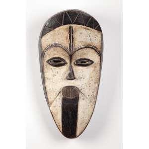 Máscara de madeira. 38 cm. Povo Igbo. Nigéria.