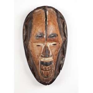 Máscara de madeira. 38 cm. Povo Igbo. Nigéria