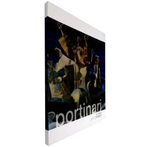 """PORTINARI, Cândido - Catálogo expográfico ricamente ilustrado, que mostra a exposição """"PORTINARI na Coleção Castro Maya"""" – são 58 obras entre pinturas, desenhos e gravuras, entre elas, a célebre """"O Sapateiro de Brodósqui"""". <br />560g; 25x26 cm; 64 págs.; capa dura"""