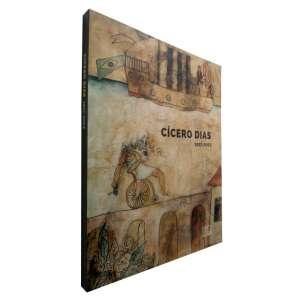 CÍCERO DIAS - Livro de exposição - As obras que compõem esta exposição, a maioria inéditas, são dez aquarelas dos anos 1920 e 1930, um desenho da década de 1930, 19 pinturas dos anos 1930 a 1980 e dez litografias que constituem a Suite Pernambucana, parte de 25 gravuras editadas em 1983, a partir de suas aquarelas de 1920.<br />710g; 27x22 cm; 128 págs.<br />