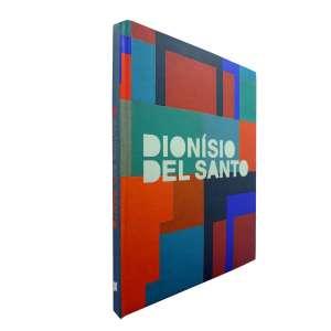 DIONISIO DEL SANTO - Livro de exposição de uma retrospectiva do artista, ricamente ilustrado com reproduções de sua arte moderna e contemporânea.<br />880g; 29x23 cm; 118 págs.; capa dura;português/inglês