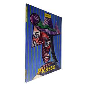 PABLO PICASSO – Livro fartamente ilustrado. Traz a história de sua infância e juventude; Picasso como desenhista e gravador; o cubismo em seu trabalho; ele como escultor; os anos 1920 e 30 em sua vida; como artista de cartazes; sua experiência na guerra; o artista como ceramista e suas últimas obras. <br />500g; 30x23 cm; 95 págs.