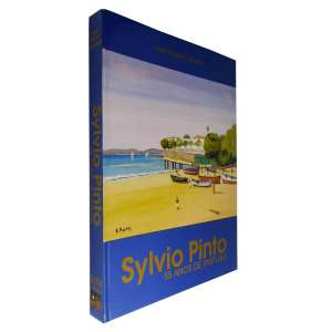 SYLVIO PINTO - Livro que celebra os 55 anos de pintura do artista, apresentando vida e obra de Sylvio Pinto. Profusamente ilustrado.<br />1.370g; 30x23 cm; 223 págs.; capa dura; português/inglês<br />