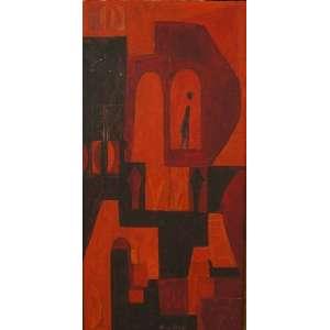 Alice Brill - Sem título - Assinado ao Centro /OST colado sobre placa - 45 x 23 cm.