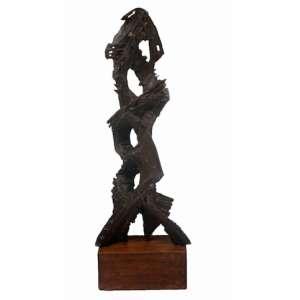 BRUNO GIORGI - S/T -Importante escultura executada em Bronze - Assinado - Déc 1960 - Ex Coleção Gov Abreu Sodré - 66 cm alt