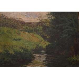 BAPTISTA DA COSTA - Rio Piabanha - CID/OST - 20 x 29 cm.