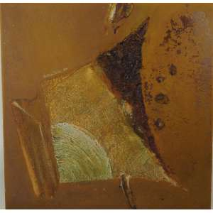 WAKABAIASHI - Abstrato - OST / - Dec 70 - necessita retoques na pintura