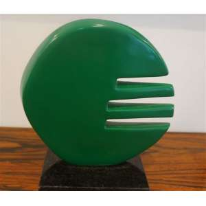Anita Kaufmann - Escultura em resina - 20 cm de alr, 13 de comp, 8 de prof