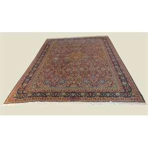 Tapete de manufatura manual , Tabriz - 378 x 287cm.