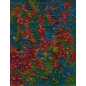 TEREZA VIANA - Composição - OST - Assinado no verso - 121 x 92,5 cm.