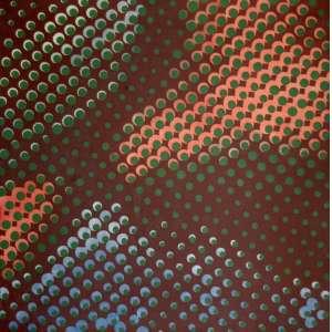 HERMELINDO FIAMINGHI (São Paulo 1920-2004)- Retícula - OST - Brasil c. 1970 -80x 80 cm