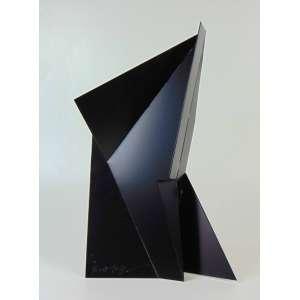 Emanuel Araujo - Escultura metal pintado - 60cm de alt x 35 de largura 15 de profundidade