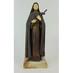 Demétre Chiparus - Escultura de bronze e marfim representando Santa Terezinha. 40 cm de alt.