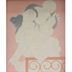 Milton da Costa - Vênus - OST/ Assinado no verso - 27 x 22 cm.
