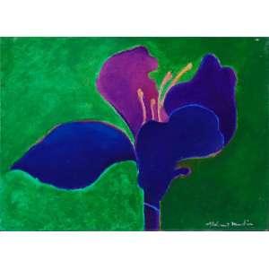 Aldemir Martins – Flor - OST/CID - Dat. 1971 - 16 x 22 cm.