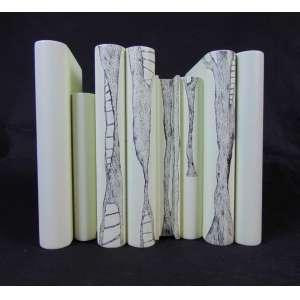 SANDRA CINTO -sem titulo caneta STAEDLER S/ Laca nitrocelulose , assinada, 20 x 23 x 12 cm, peça UNICA .1999.