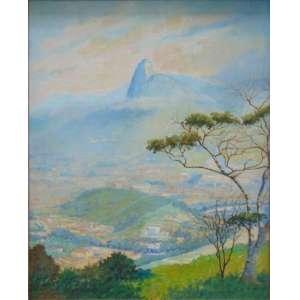 Dakir Parreiras - Vista do Rio de Janeiro - OST/CIE - 124 x 94 cm.