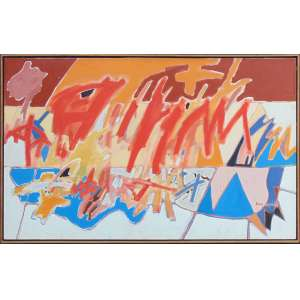 Luis Aquila - dat 1998 - OST/CID - 81 x 130 cm.