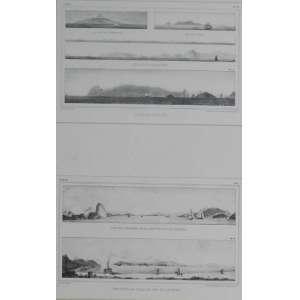 Debret,2 gravuras, 76 X 56cm cada.