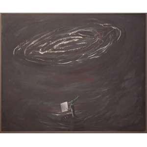 Armando RearteGritar contra el trueno - 1985 - 100 x 150 cm.