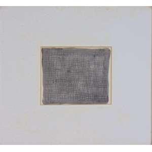 Gilberto Guimarães Bastos - Técnica mista sobre papel, assinado e datado 1983 - 16 x 19 cm.