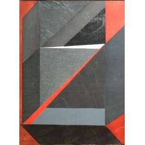 EMANUEL ARAUJO. Geométrico, gravura, 67 X 49cm. Assinado no canto inferior esquerdo datado de 1976.