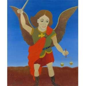 Elza - São Miguel Arcanjo - OST / CIE - 60 x 46 cm