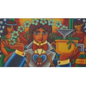 WELLINGTON VIRGOLINO - O mágico das flores - OSE / DAT 1977 - 40 x 70 cm.