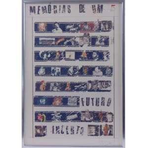 WESLEY DUKE LEE - Memórias de um - CID - Datado de 1980 - 45 x 31 cm.