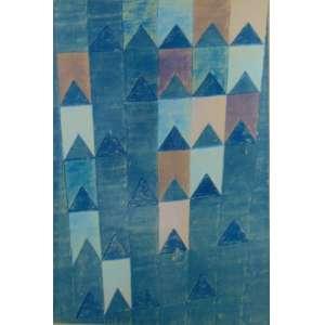 A. Volpi - Bandeiras - Provas especiais - 3/7 - Gravura / CID - 67 x 48 cm.