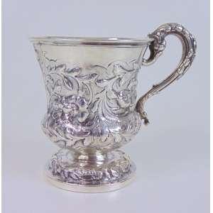 Mug em prata inglesa - 8 cm de alt e 7 de diâm.