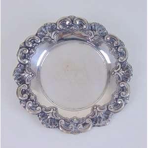 Salva de prata portuguesa - 24 cm de diâm.