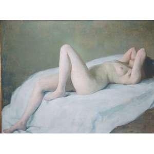 TULIO MUGNAINI - Nú Feminino - OST/CID - Dat 36 - 96 x 1,28 cm.