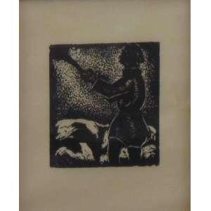 Goeldi - Gravura - Sem assinatura - 14 x 16 cm.