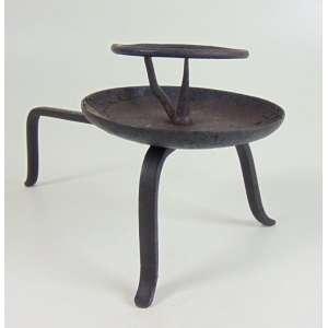 Artefato de ferro - Japão séc XIX - 14 cm de alt e 13 cm de diâm.