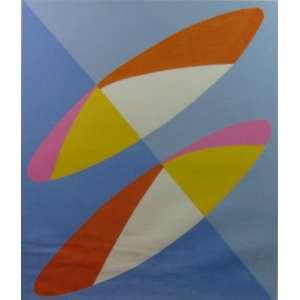 Sonia Ebling - Gravura sem título / CID - 87/110 - 64 x 58 cm.