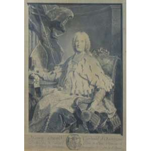 Par de gravuras representando Nobres - França - 49 x 37 cm.