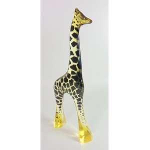 Palatinik - Girafa - Assinado - 49 cm de alt e 19 de comp.