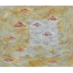 SILVIA FREITAS - S/T - OST/Assinado no verso - dat 91 - 156 x 130 cm