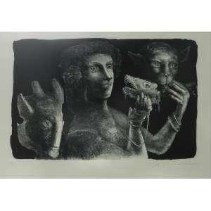 MARCELO GRASSMANN - S/T - Gravura 16/CID - 49/60 - 47 x 67 cm.