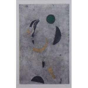 PIZA - Eclatement - Gravura em metal - CID - 1960 - 46,5 x 29,5 cm (medida interna) - Apresenta manchas amareladas (no estado) - Catalogada sob numero 83 no Catalogue General de L Oeuvre Gravé par K. MASROUR.