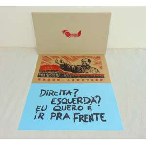 DORA LONGO BAHIA - Arte a serviço do povo - 30 serigrafias em caixa de papelão com hotstamp - dat 2016 - edição 11/13 - 36,5 x 64,5 cm cada - Certificado de Autenticidade da Galeria LUISA STRINA