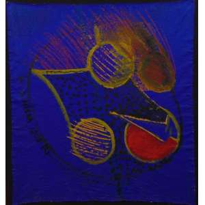 ARTHUR BARRIO, A Hiena Que Ri, ost, ass. cse, 1984, 114 x 105 cm.