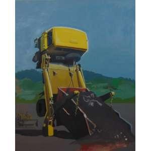 MARCELO CAMPARINI - Muita Areia - OST / Assinado e dat 2011 no verso - 150 x 120 cm