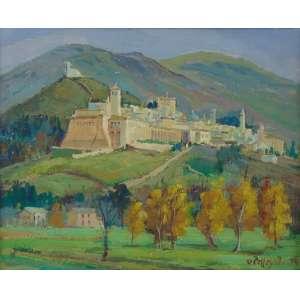 PELEGATTA -Assisi - ItáliaOSMadeira/CID - dat 1974 - 22 x 26 cm.