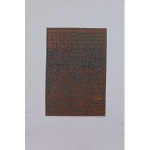 BONATTO - S/T - Gravura em metal - CID - 110/150 - 56 x 38 cm. - Apresenta manchas amareladas (no estado) - Obra não emoldurada