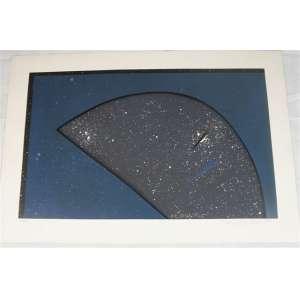 ANNA BELLA GEIGER, N1 Blau Platz, Serigrafia, ass. cid, 1984, Edição: 66/100, 76 x 112 cm. Obra não emoldurada.