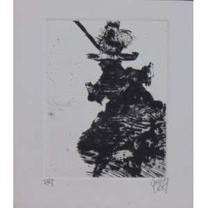 Mário Gruber - S/T - Gravura em metal / CID - dat 1963 - N° 13/12 - 13 x 12 cm. Obra não emoldurada