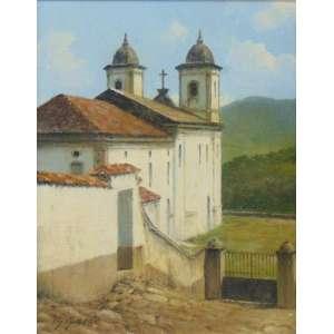 THEODORO GAEDE - Igreja das Mercês e Perdão - Ouro Preto - OSE - CIE - 29 x 23 cm